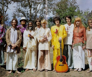 60s, donovan, and the beatles image