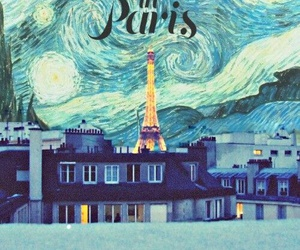 paris, midnight in paris, and movie image