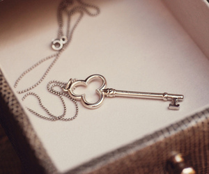 key, photography, and necklace image