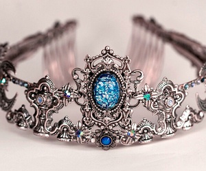 accessories, crown, and design image