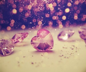 crystals and heart jewels image