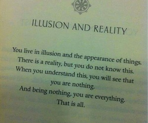 illusion, poems, and reality image
