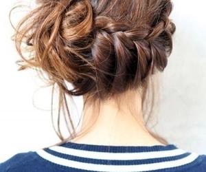 braid, fashion, and hair styles image