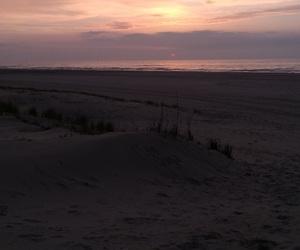 summer, beach, and sunrise image