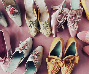 shoes, marie antoinette, and vintage image