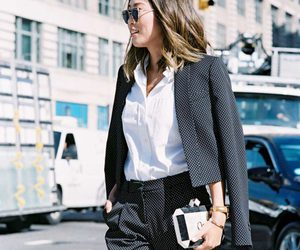 fashion, interview outfit, and women suits image