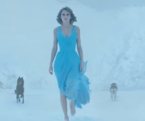 blue dress, Taylor Swift, and out of the woods image