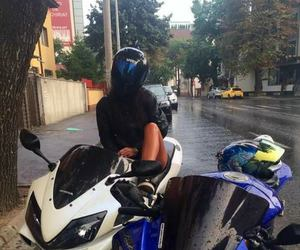 girl and moto image