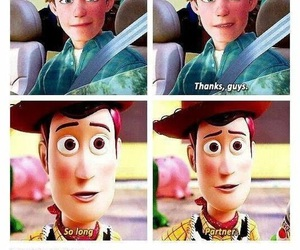 toy story, andy, and sad image