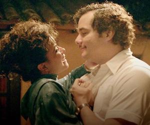 couple, pablo escobar, and tata image