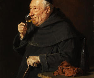 fat, wine, and monk image