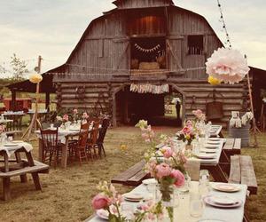 wedding, barn, and country image