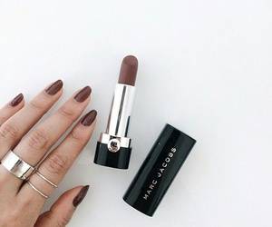 lipstick, nails, and makeup image