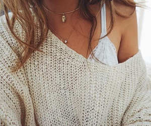 beige, bra, and gold image