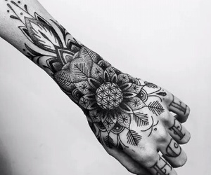 bmth, oli sykes, and tattoo image