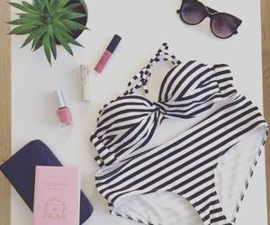 bikini, summer, and traveling image