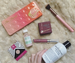 beauty, benefit, and makeup image