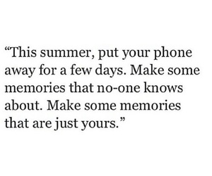 quotes, summer, and memories image