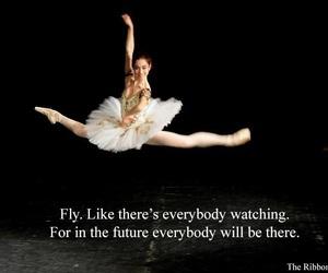 ballet, dance, and motivation image