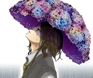 anime, harry potter, and hydrangea image