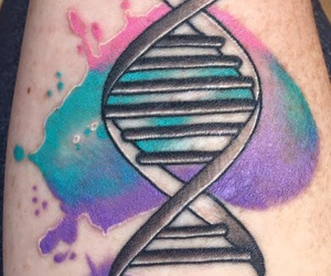 biology, science, and tattoo image