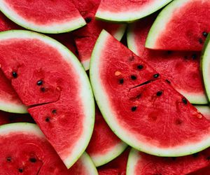 fruit, summer, and melon image