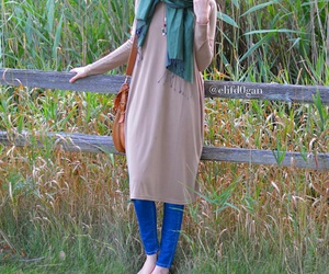 hijab, modest, and hijab fashion image