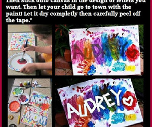 crafts, for the kids, and diy art image