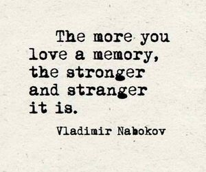 quote, memory, and love image