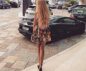 fashion, car, and dress image