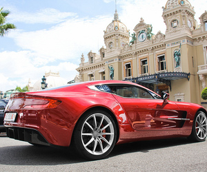 luxury, monaco, and red car image