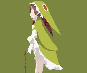 anime, minimal, and light novel image