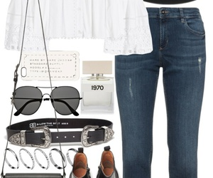 hat, jeans, and outfits image