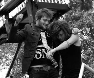 danny worsnop and ben bruce image