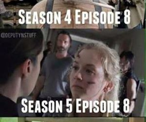 funny, twd, and humor image