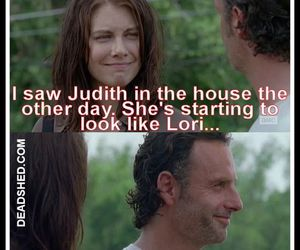 the walking dead, funny, and twd image