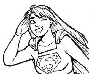 Supergirl, dc comics, and kara zor el image