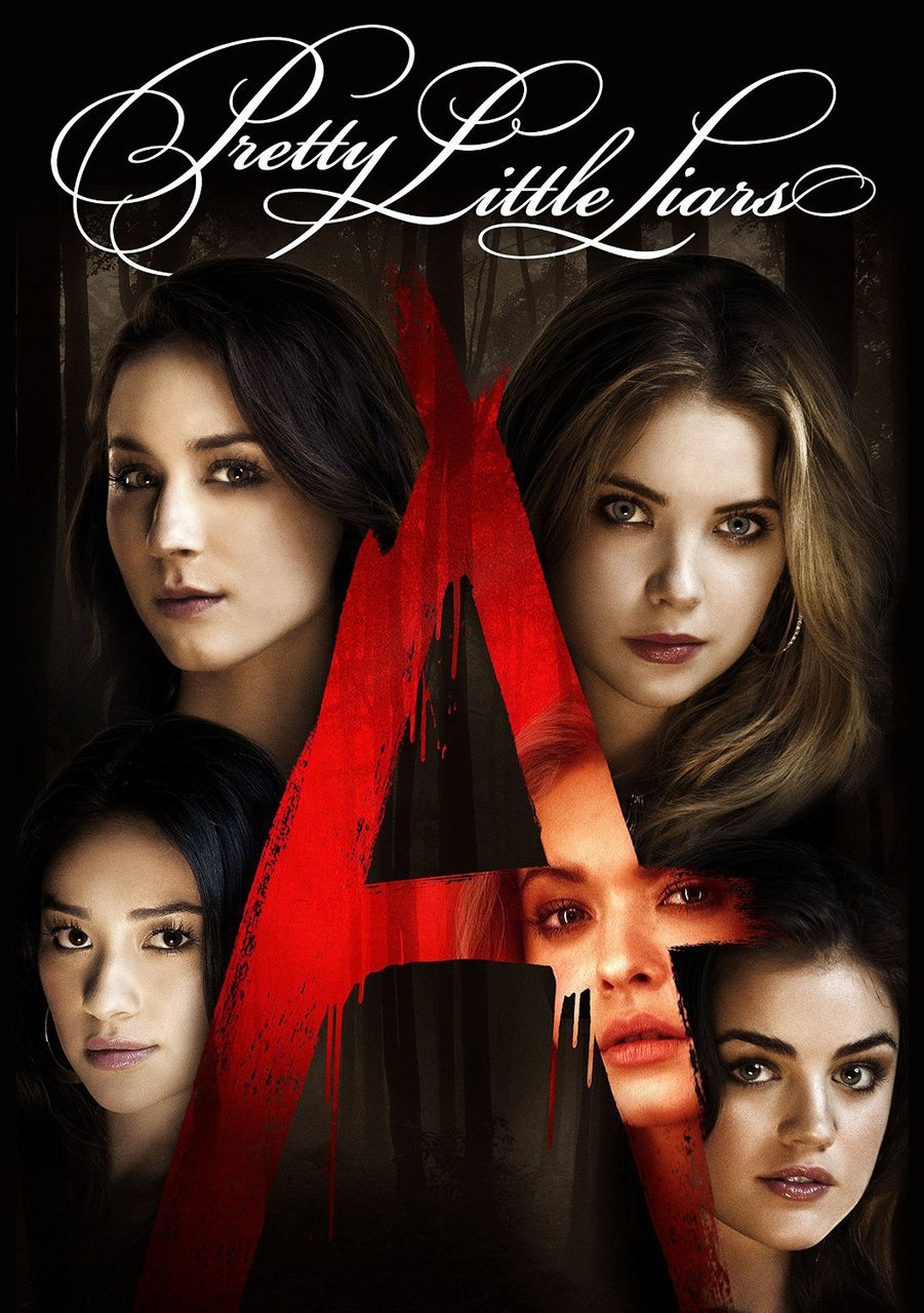 pretty little liars, pll, and a image