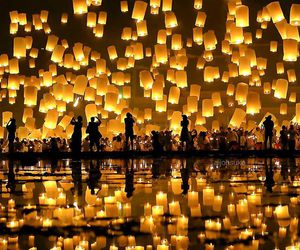 light and thailand image