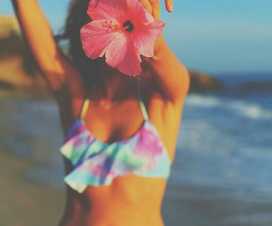 flowers, summer, and paradise image