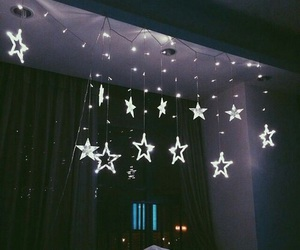 stars, light, and room image