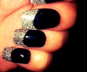 black, colors, and glitter image
