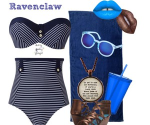 beach, harry potter, and ravenclaw image