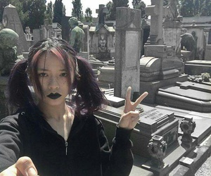 plaaastic, black, and cemetery image