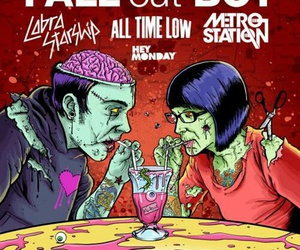 all time low, cobra starship, and fall out boy image