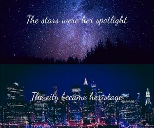 city, Lyrics, and stars image