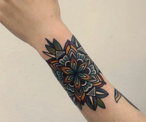 art, old school tattoo, and ink image