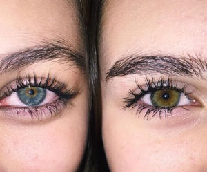 eyes, best friend, and sister image