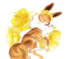 eevee and pokemon image
