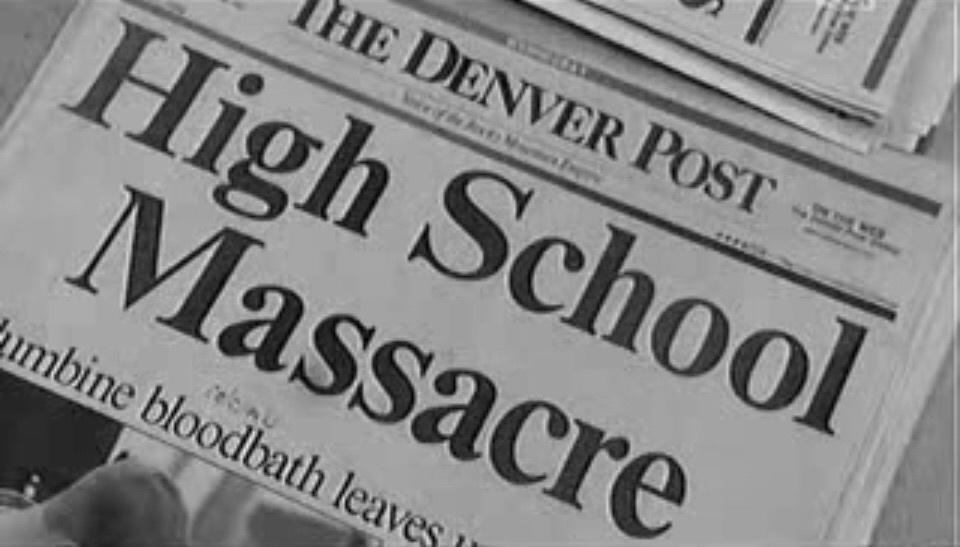 massacre, aesthetic, and columbine image